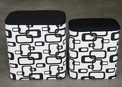 Laundry container square bast set