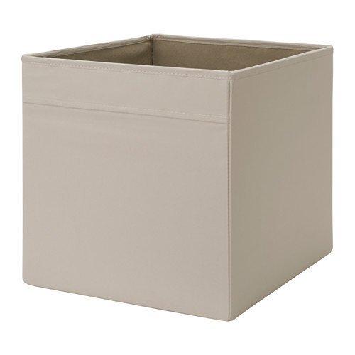 2 x IKEA DRONA 33x38x33cm HomeOffice Storage Box Perfect for Everything Beige by DRONA
