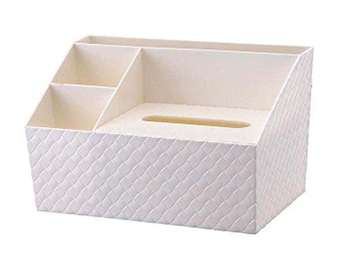 5 Cells Creative Tissue Box Home Office Storage Box Tissue HoldersWhite