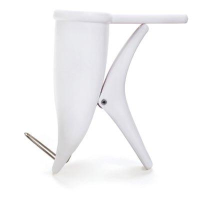 Pockit Pocket Clip Holder Home Office Storage Bin Desk Organizer White