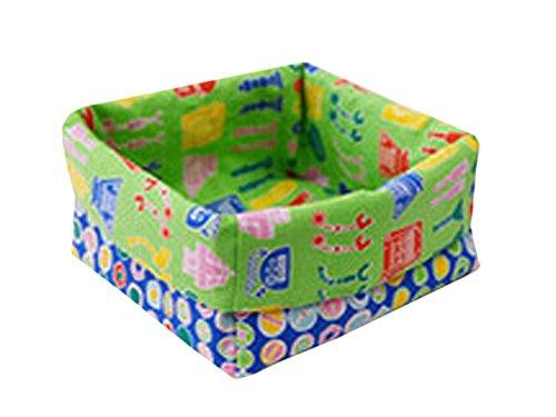 Cotton Desk Storage Organizer Box Basket Bin Container Fashion Circle
