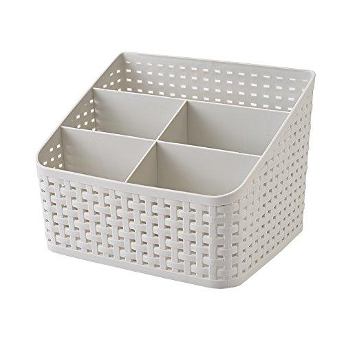 Fanmeili SN2245 Desktop Organizer Desk Storage Container Grey
