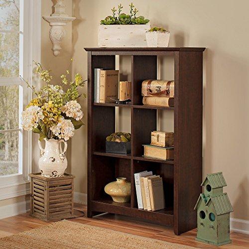 Buena Vista 6 Cube Bookcase