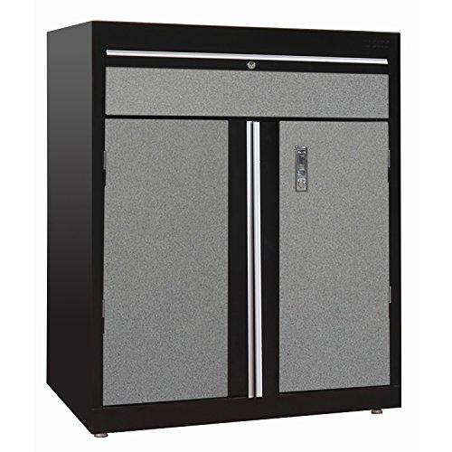 Sandusky Lee GADF301836-M9L Modular System Base Storage Cabinet with Drawer 30 Width x 18 Diameter x 43 Height BlackMulti Granite
