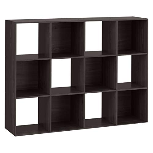 12-Cube Organizer Shelf 11 - Room Essentials Espresso Brown