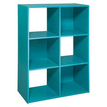 6-Cube Organizer Shelf 11 - Turquoise