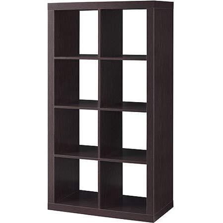 NCT 127 TSR Cube Storage Organizer Black Cube Organizer Multiple Function Cube Shelf Organizer Wooden Cube Storage Shelf with E-Book