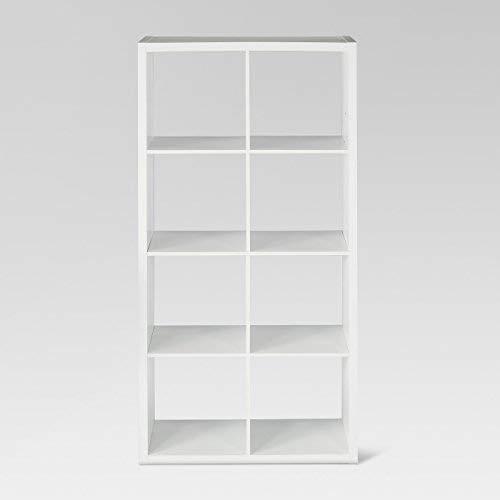 Threshold 8-Cube Organizer Shelf White
