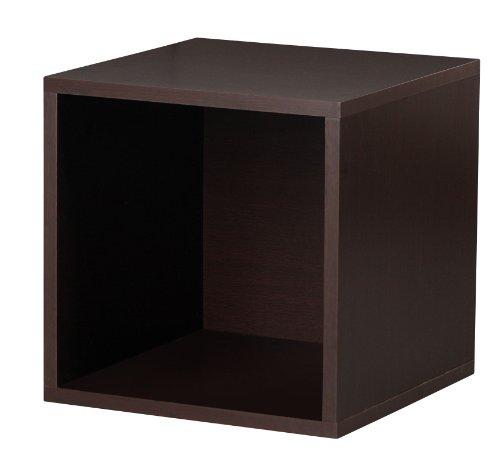 Foremost 327609 Modular Open Cube Storage System Espresso