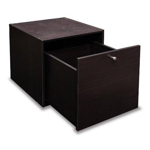 Furinno 11016 Hidup Tropika Eco Modular Cube Storage System with 1 Large Drawer