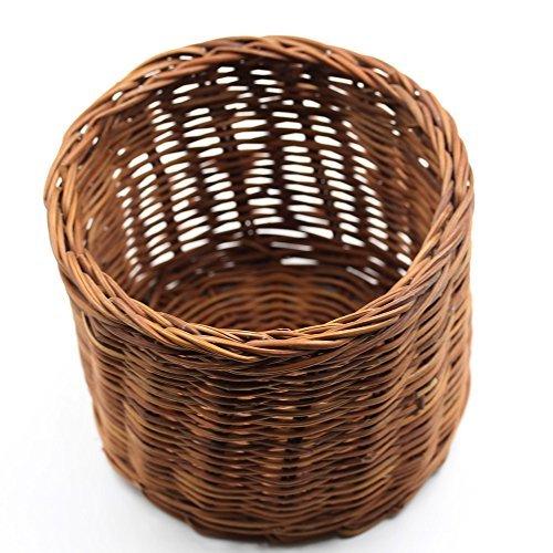 RattanfunSmall RattanWicker Storage Basket 100 Handmade