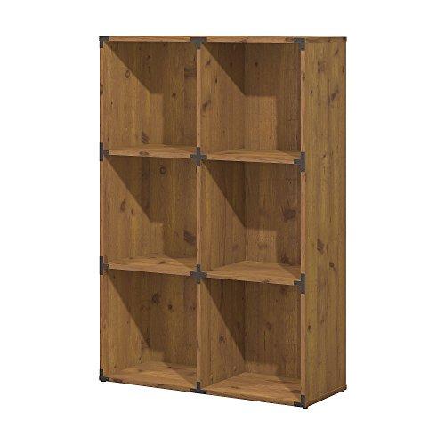Ironworks 6 Cube Bookcase