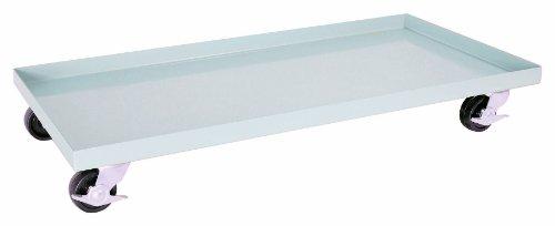 Sandusky Lee DO10361800-05 Dove Gray Steel Cabinet Dolly 1000 lbs Capacity 34 Height x 36 Width x 18 Depth