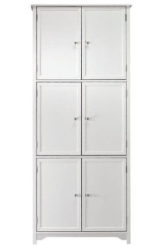Oxford 6 door Storage Cabinet SIX-DOOR WHITE