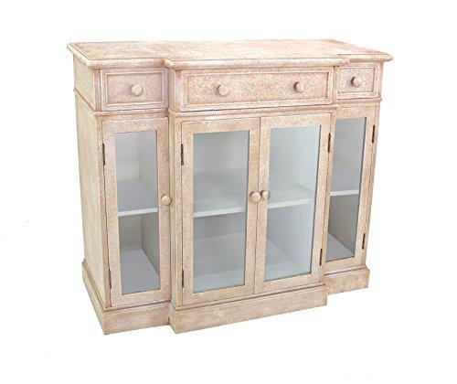 Teton Home AF-032 Wood Storage Cabinet