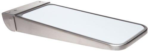 Bobrick 287 Folding Utility Shelf Stainless Steel 14 12 in x 5 34 in Satin Finish