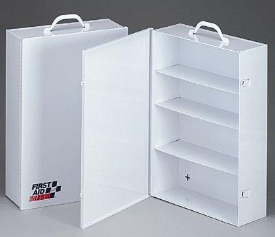 4 Shelf Industrial Cabinet- Empty Metal Case W Swing Out Door- 14-1516 In