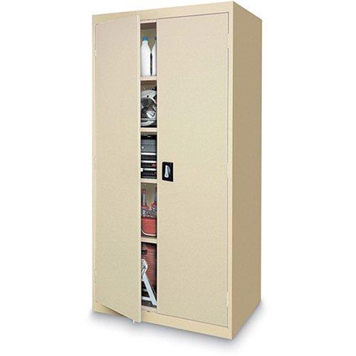 Sandusky Lee Standard-Industrial Storage Cabinets - 36X18x78 - 5 Shelves - Putty - Putty