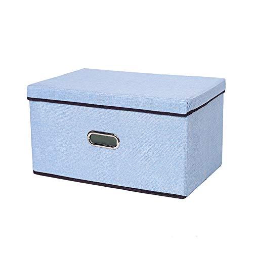 RICH Closet Organizer BinsCollapsible Storage Binstorage Basket for Shelves Closet Bins with HandleHome and Office Box Organizer for ClothesToys 453025cm 504030cm