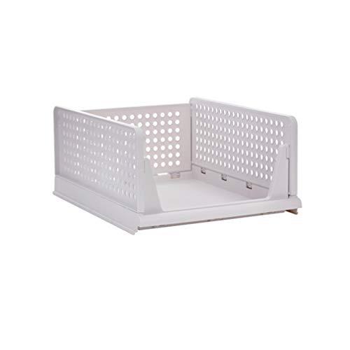 TOPBATHY Cloth Storage Box Closet Dresser Drawer Organizer Basket Bins Containers for Shirt Underwear