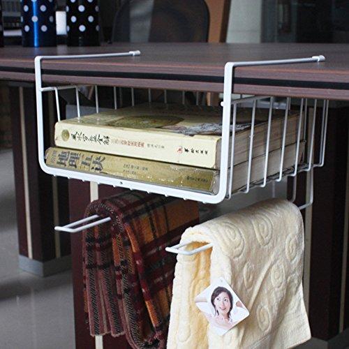 Hever Home Kitchen Hanger Organizer Bins Cookie Accessories Storage Shelf Closet Container Box Space Saver Shelf