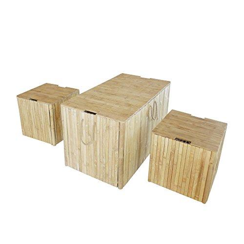 Zero Emission World Trunk Box without Cushion Set of 3