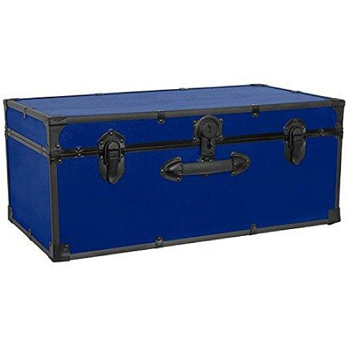 Mercury Luggage Seward Trunk Stackable Storage Footlocker 30