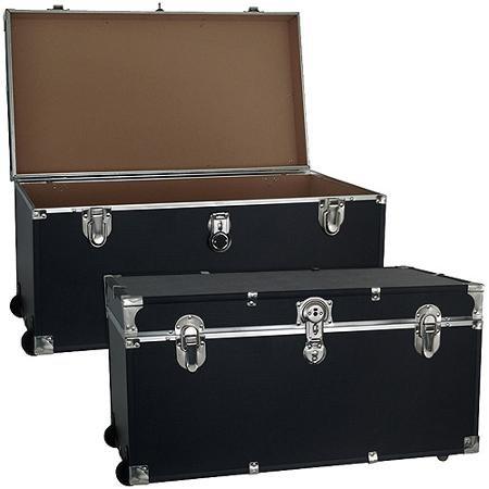 Mercury Luggage Seward Trunk Wheeled Storage Footlocker 31