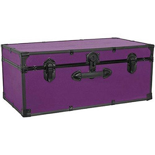 Seward Trunk Stackable Storage Footlocker 30 purple