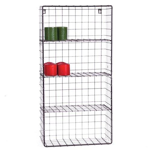 Skalny Rectangle Wire Wall Storage Unit 1575 x 8 x 315