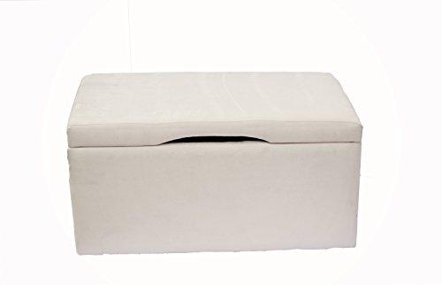 Crew Furniture 991740 Beau Storage Bench Toy Box Moonbeam
