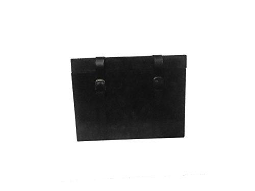 Leather Black Trunk Box
