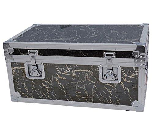 VIN Steel Plated Trunks - Sommet Destination Black Granite