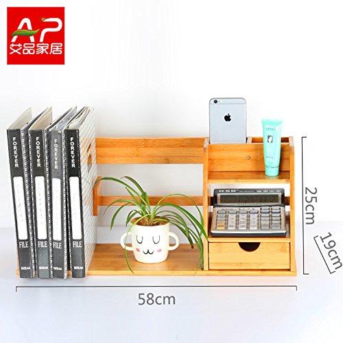 Desktop Bookshelf Shelf Storage Box Simple Desk Small Bookshelf Creative Student Desk Admission Rack58