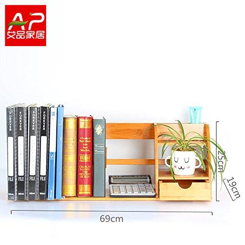 Desktop Bookshelf Shelf Storage Box Simple Desk Small Bookshelf Creative Student Desk Admission Rack68
