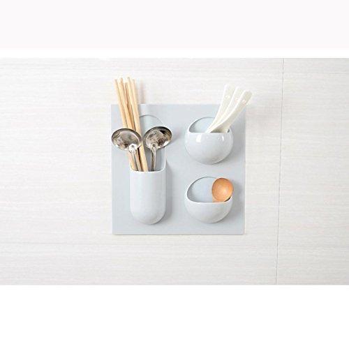 Fullkang Repeatedly Used Hanging Shelf Kitchen Bathroom Hanging Shelf Storage Box Blue