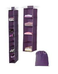 3-Piece Closet Set - Eggplant Purple
