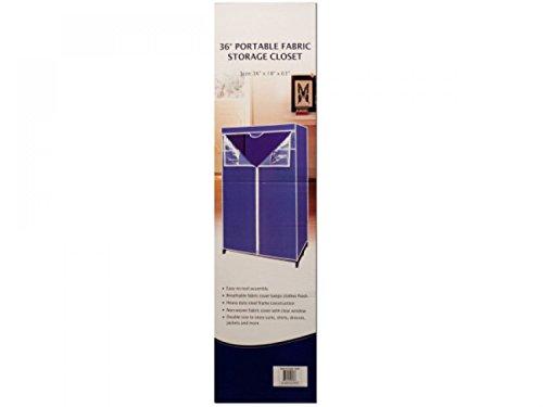 Portable Fabric Storage Closet - Set of 3 Household Supplies Storage Organization