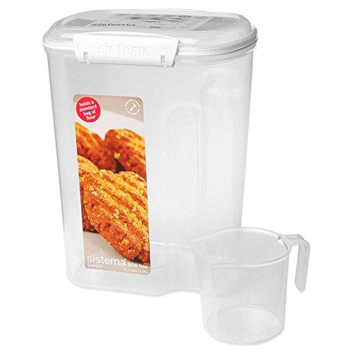 Sistema 137 Cups Sugar Flour Container 1 137 Cups