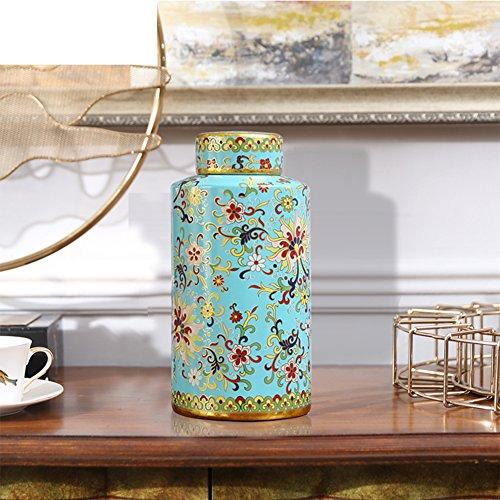 New Classic Ceramic Storage Jar OrnamentsThe Fashion House Home Decorations-A