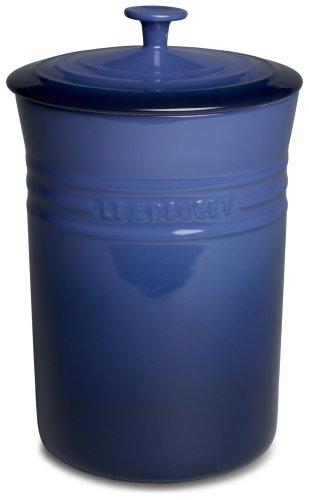 Le Creuset Stoneware Large 5-Quart Canister Cobalt