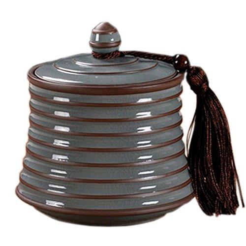 750 ML Chinese Tea Caddy Tea Container Snack Pot Tea Coffee Storage Jar