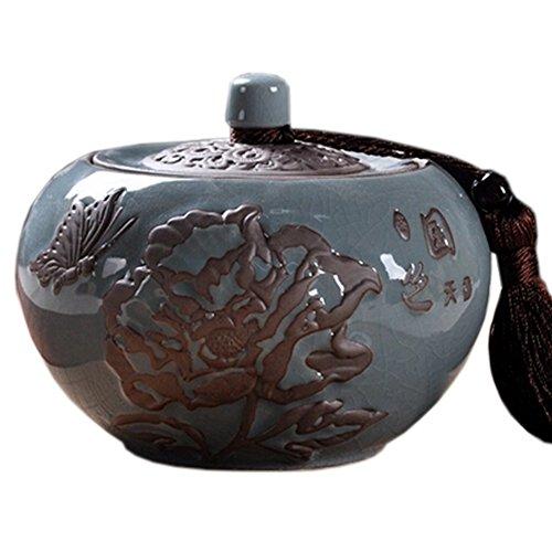 Tea Container Snack Pot Tea Coffee Storage Jar Chinese Tea Caddy700 ML