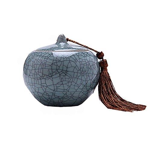 Tea caddy CeramicSnack Pot Tea Coffee Storage Jar  Creative Jar Sugar