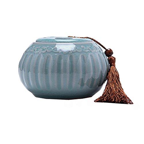Tea caddy Snack Pot Tea Coffee Storage Jar  Creative Ceramic Jar Sugar