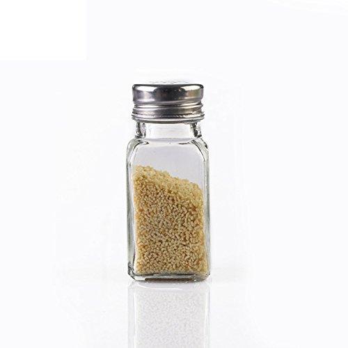 home kitchenGlass cruetSpice jarseasoning boxsalt shakersealed canister-C