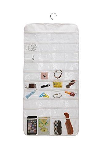 Closet Canvas Ultra 80 Pocket Hanging Jewelry Organizer 80