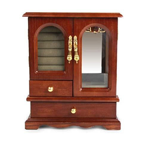 Makeup Storage Drawers Furniture Wooden Vintage Jewellery Storage Box Office Desk Large Capacity Sorting Organiser Box