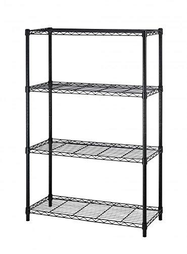 36x14x54 4 Tier Layer Shelf Adjustable Steel Wire Metal Shelving Rack