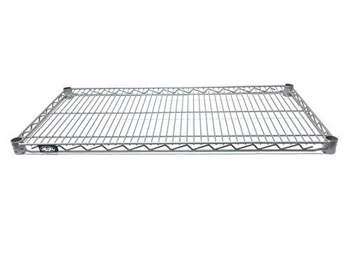 Nexel  Wire Shelf Silver Epoxy Finish 18W x 60L
